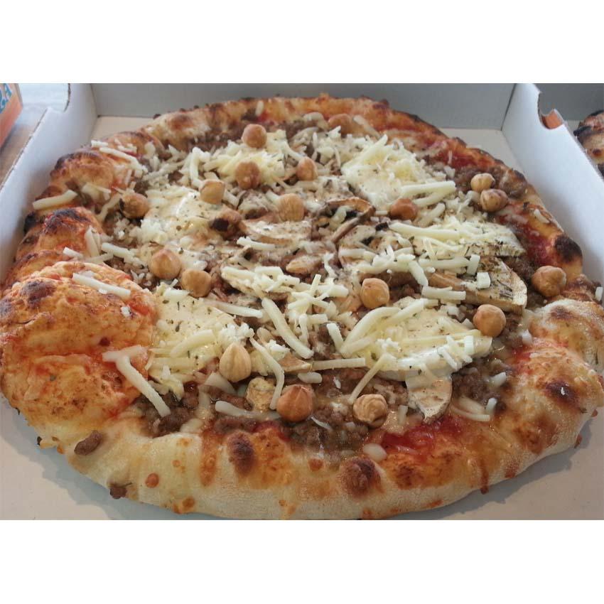 pizza de la semaine n° 13 écureuil