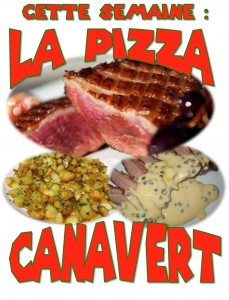 pizza canavert