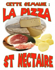 pizza st nectaire
