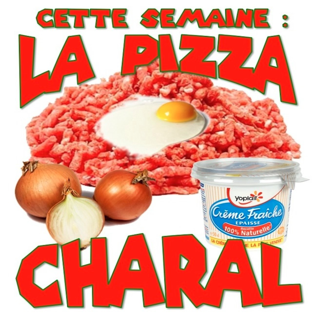 Pizza Charal