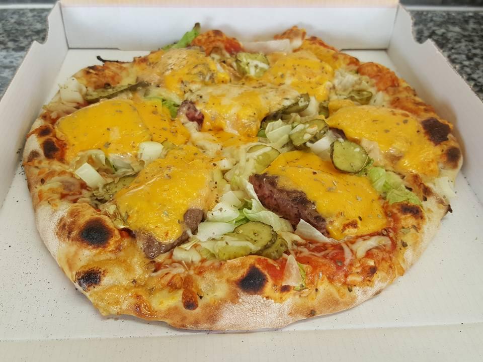 pizza de la semaine n° 9 = BURGER
