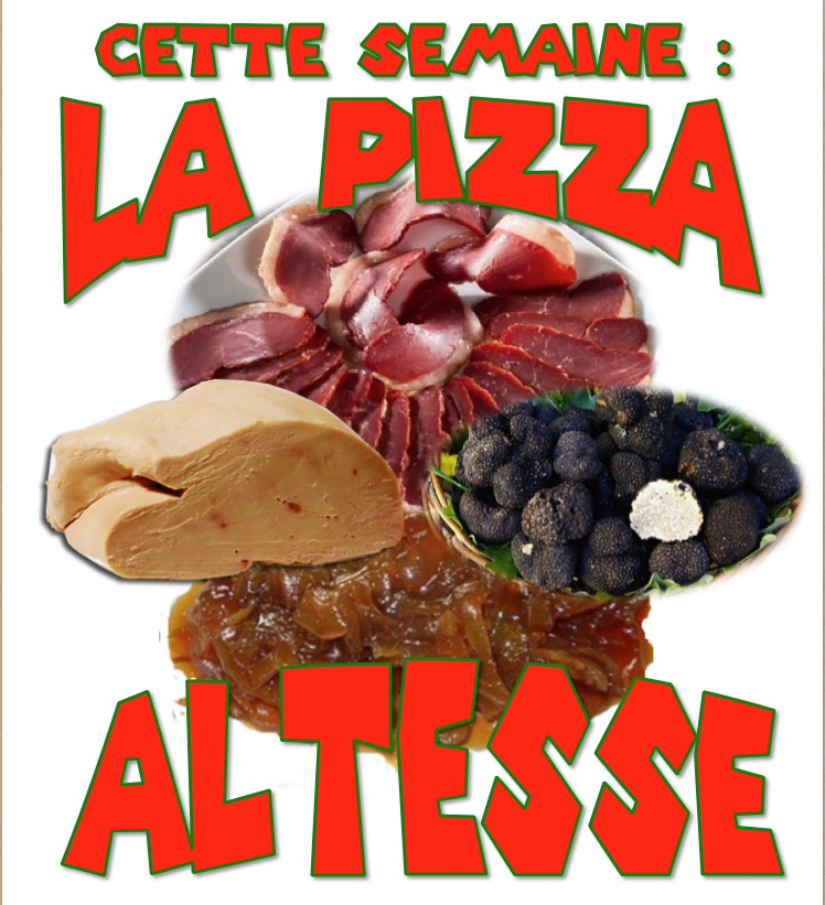 pizza de la semaine n° 50 = ALTESSE
